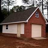Garage Construction by Johnston Contracting, LLC, Middle Georgia Construction.